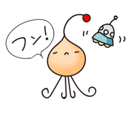 Alien family Sticker sticker #10889538