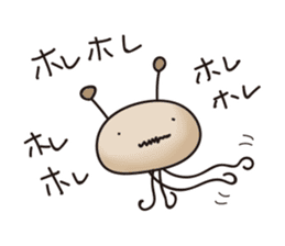 Alien family Sticker sticker #10889544