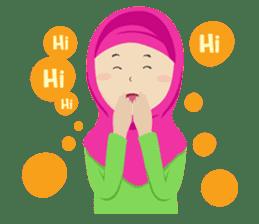Hafiz & Hafizah sticker #10903639