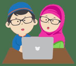 Hafiz & Hafizah sticker #10903652