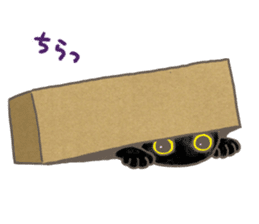 CAT IN THE BOX and ... sticker #10904220