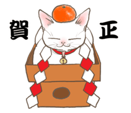 CAT IN THE BOX and ... sticker #10904244