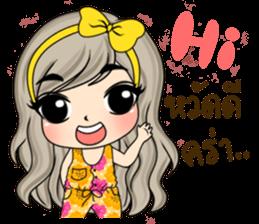 Unna mini girl sticker #10907176