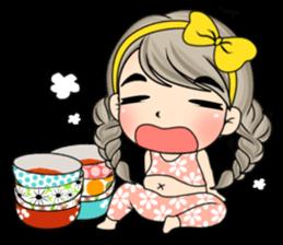 Unna mini girl sticker #10907178