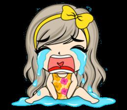 Unna mini girl sticker #10907181