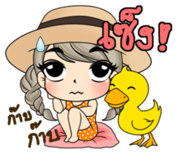 Unna mini girl sticker #10907183