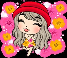 Unna mini girl sticker #10907191