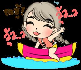 Unna mini girl sticker #10907195