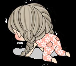 Unna mini girl sticker #10907196