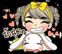 Unna mini girl sticker #10907203