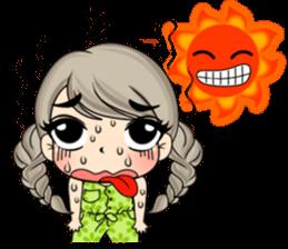 Unna mini girl sticker #10907207