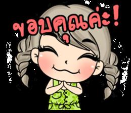 Unna mini girl sticker #10907209