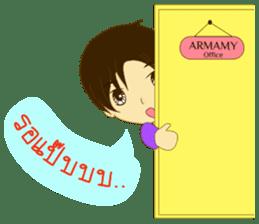 ARMAMY sticker #10924128