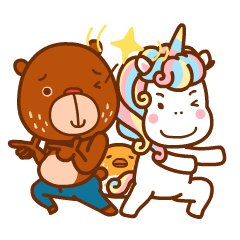 Uncle Bear & Unicorn
