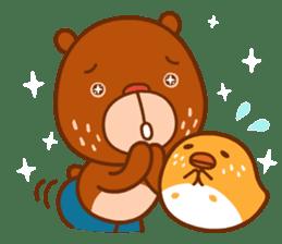 Uncle Bear & Unicorn sticker #10931300