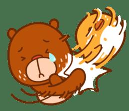 Uncle Bear & Unicorn sticker #10931305