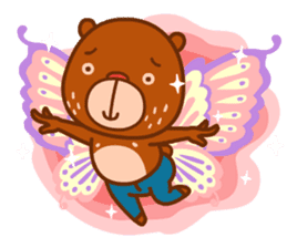 Uncle Bear & Unicorn sticker #10931306