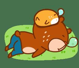 Uncle Bear & Unicorn sticker #10931307