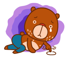 Uncle Bear & Unicorn sticker #10931308