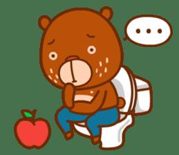 Uncle Bear & Unicorn sticker #10931314