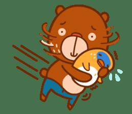 Uncle Bear & Unicorn sticker #10931315