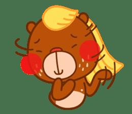 Uncle Bear & Unicorn sticker #10931328