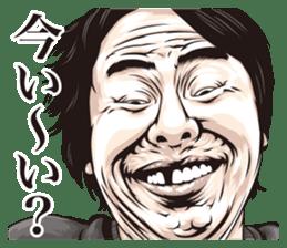 funny face everyone sticker #10935057