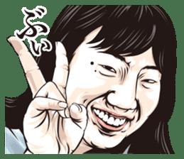 funny face everyone sticker #10935090