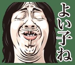 funny face everyone sticker #10935091