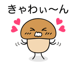 Is the simple KINOKO sticker #10940106