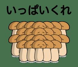 Is the simple KINOKO sticker #10940122