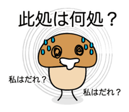 Is the simple KINOKO sticker #10940125