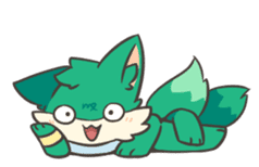 GreenFox nest sticker #10940538