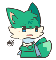 GreenFox nest sticker #10940560
