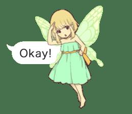 Fairy balloon Sticker EN sticker #10940738