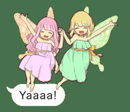 Fairy balloon Sticker EN sticker #10940742