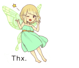 Fairy balloon Sticker EN sticker #10940747