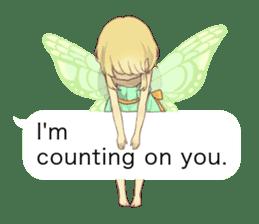 Fairy balloon Sticker EN sticker #10940748