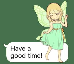 Fairy balloon Sticker EN sticker #10940755
