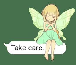 Fairy balloon Sticker EN sticker #10940758