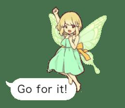 Fairy balloon Sticker EN sticker #10940764