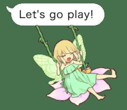 Fairy balloon Sticker EN sticker #10940768
