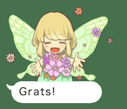 Fairy balloon Sticker EN sticker #10940771