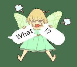 Fairy balloon Sticker EN sticker #10940774