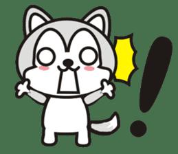 wow wow Huskies 2 sticker #10943539
