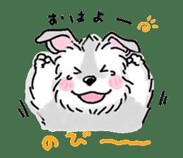 Miniature Schnauzer SYU-chan sticker #10959113