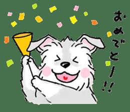 Miniature Schnauzer SYU-chan sticker #10959114