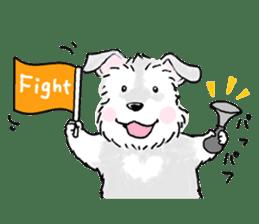 Miniature Schnauzer SYU-chan sticker #10959116