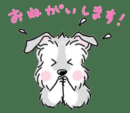 Miniature Schnauzer SYU-chan sticker #10959119