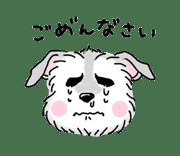 Miniature Schnauzer SYU-chan sticker #10959122